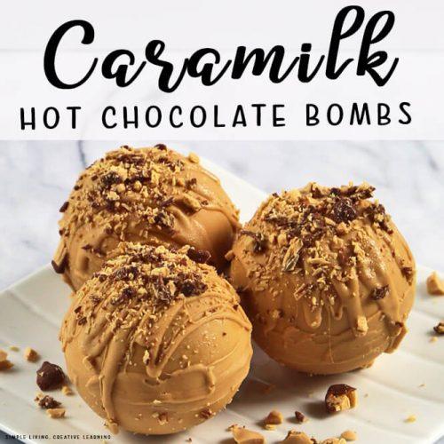 Caramilk Hot Chocolate Bombs