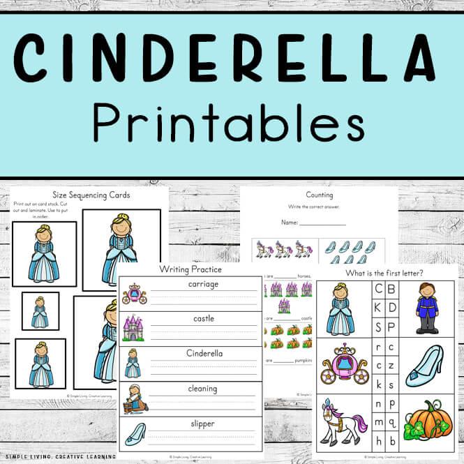 Cinderella Printables