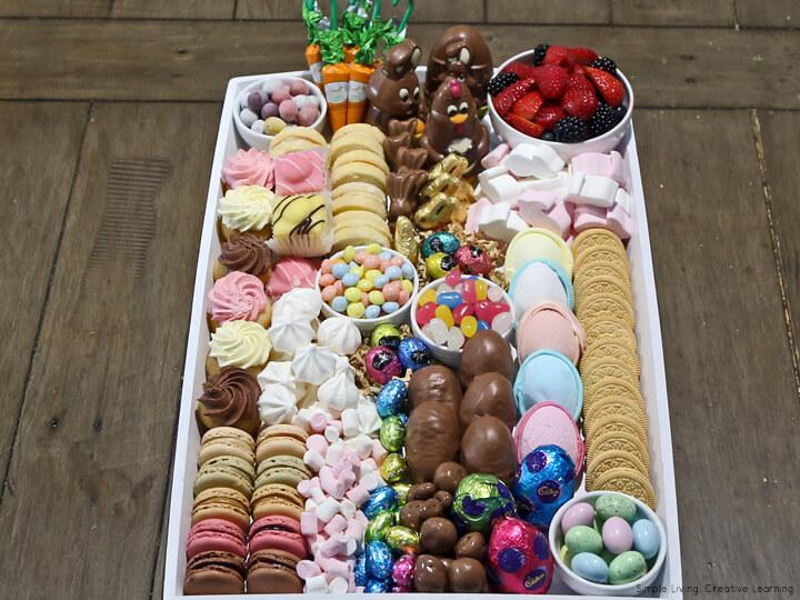 Easter Dessert Board