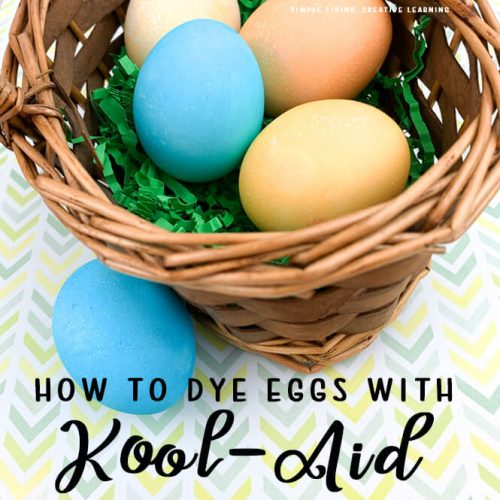 How to Dye Eggs with Kool-Aid