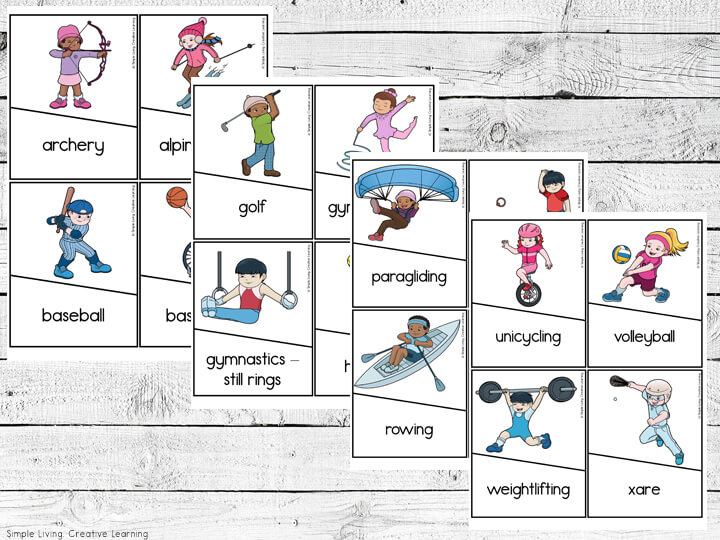 Sports Themed Puzzles