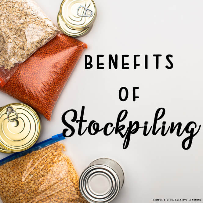 Benefits of Stockpiling
