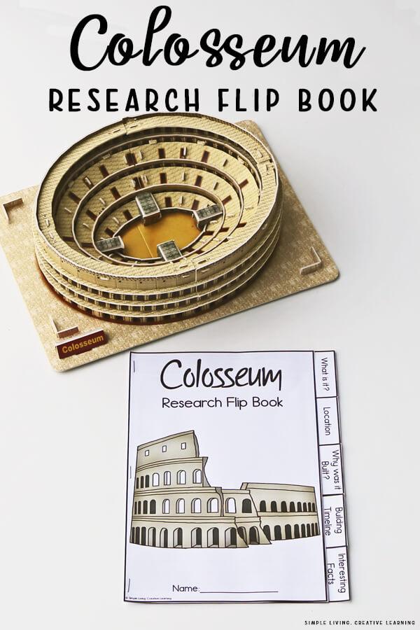 Colosseum Research Flip Book