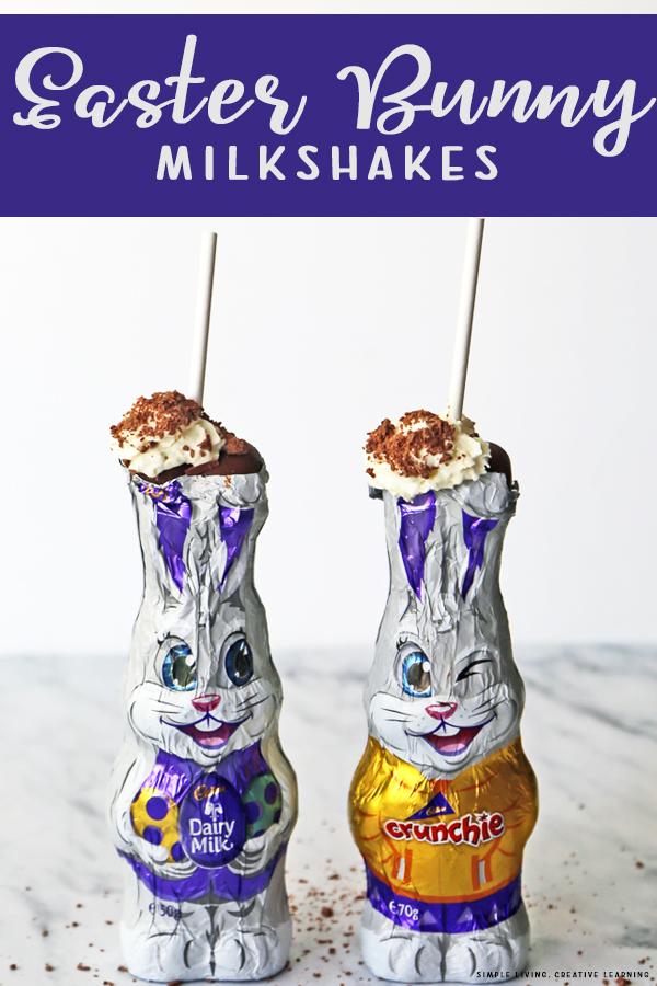 Easter Bunny Milkshakes