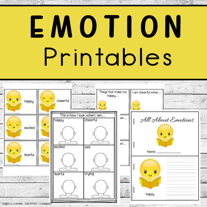Emotion Printables