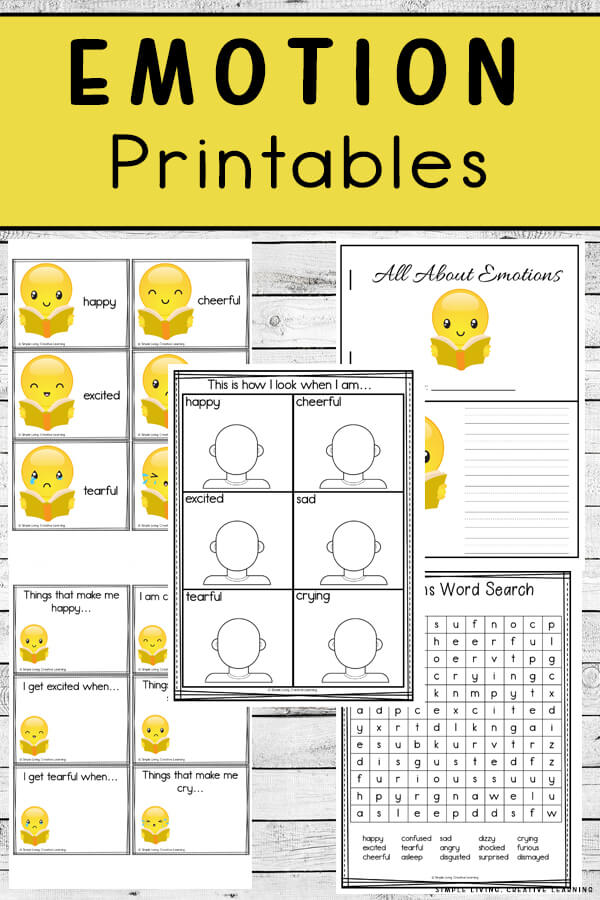 Emotion Printables