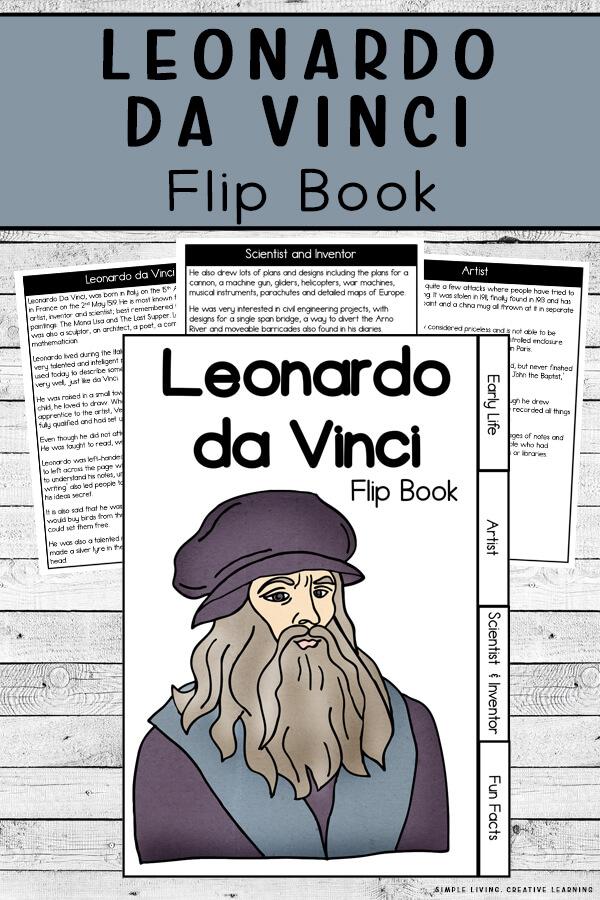 Leonardo Da Vinci Flip Book