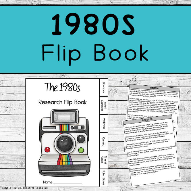 1980s Research Flip Book