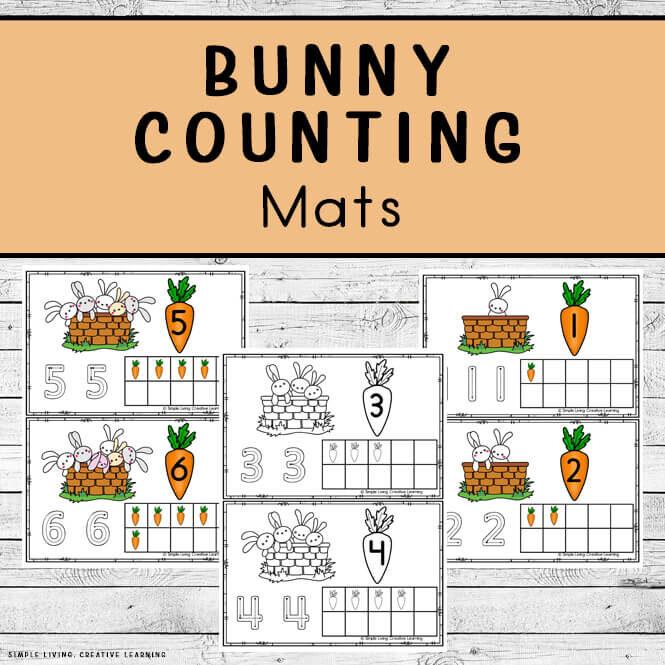 Bunny Counting Mats