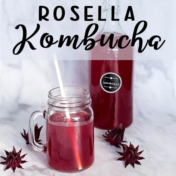 Rosella (Hibiscus) Kombucha