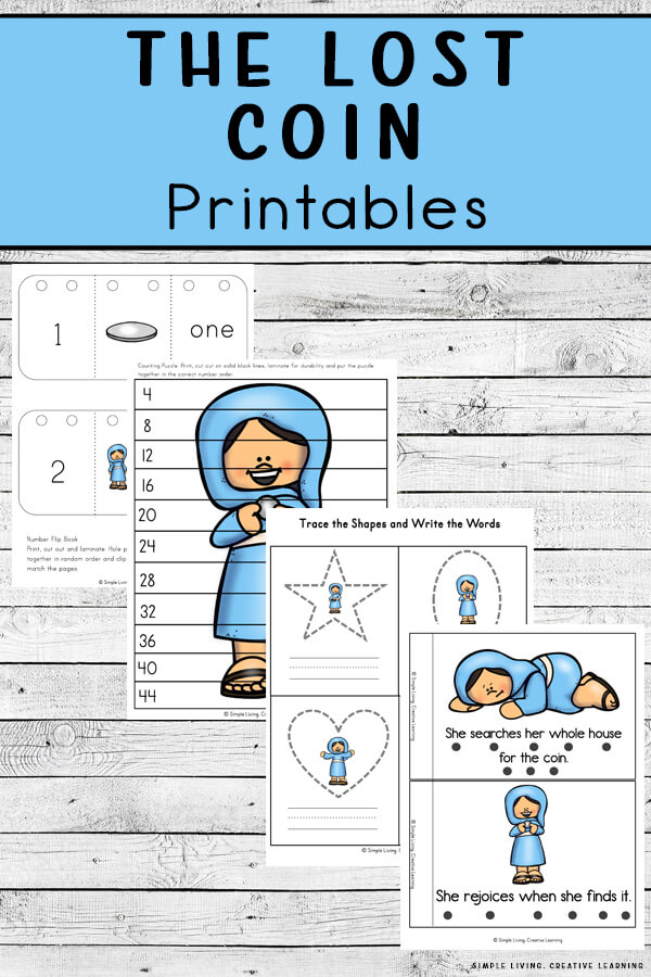The Lost Coin Printables