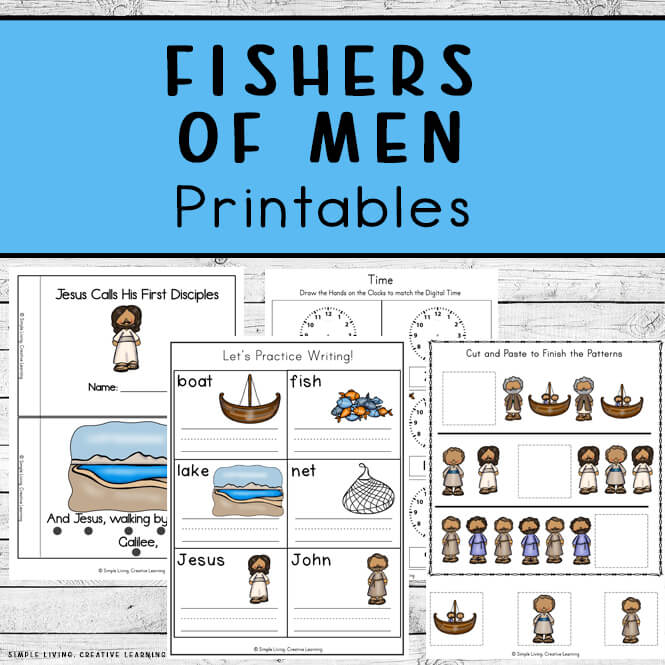 Fishers of Men Printables