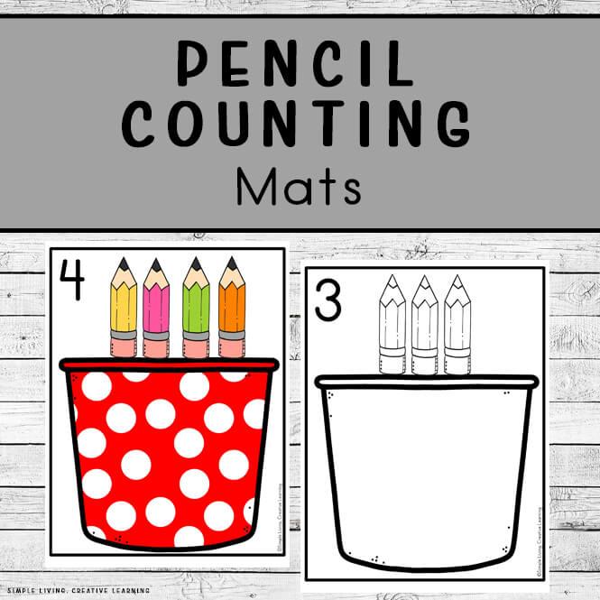 Pencil Counting Mats