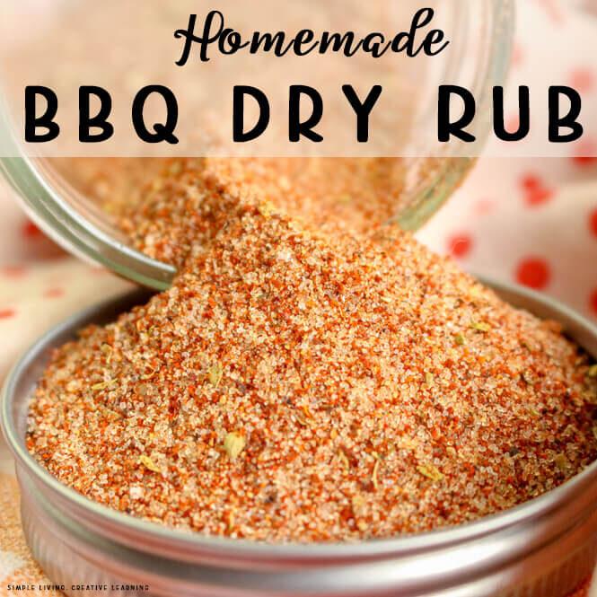 Low Carb BBQ Dry Rub Seasoning