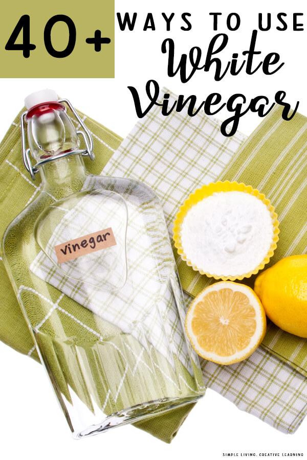 Ways to Use White Vinegar