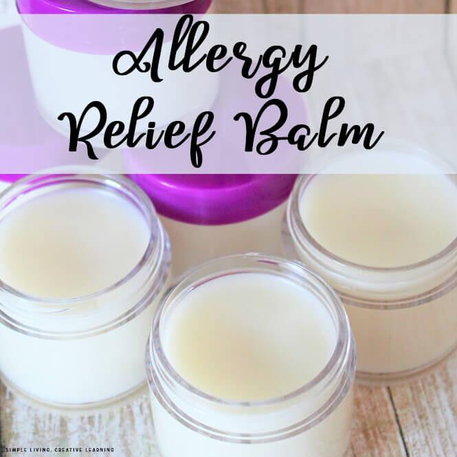 Allergy Relief Balm
