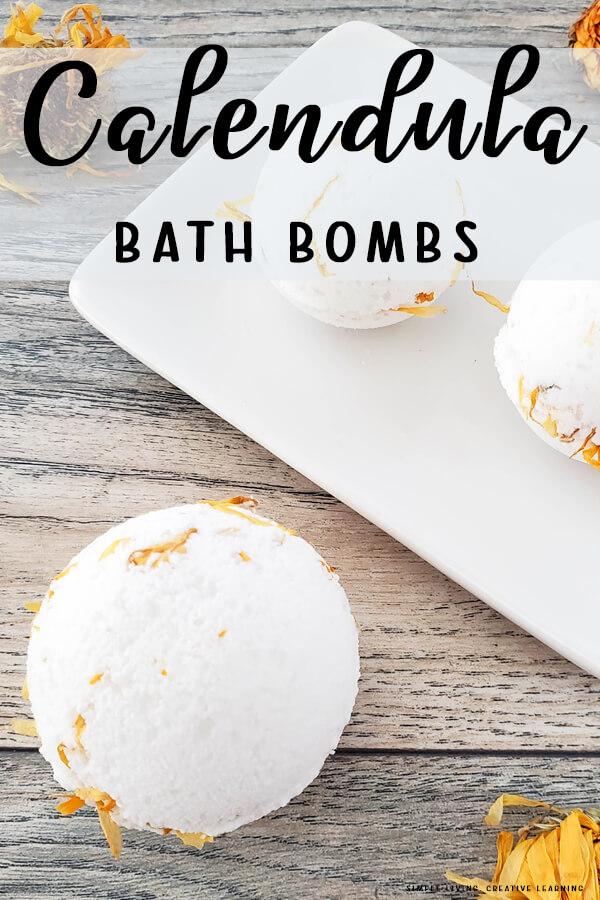 Calendula Bath Bombs