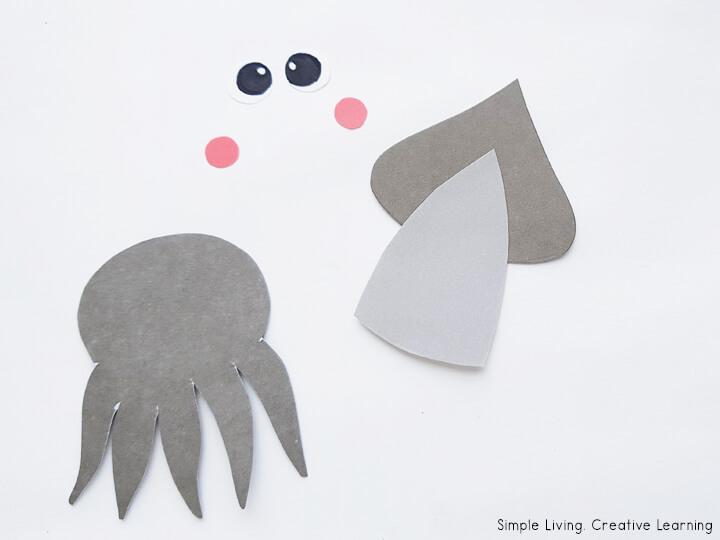 Squid Paper Craft Activity